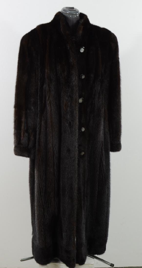 Ladies Full Length Mink Coat
