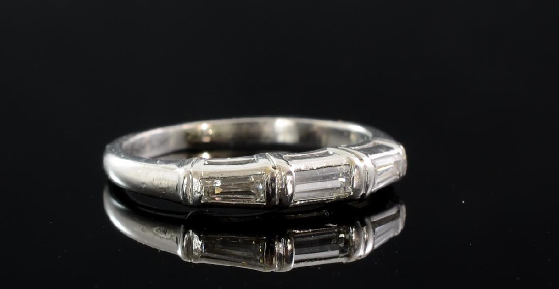 Ladies Platinum Diamond Wedding Band