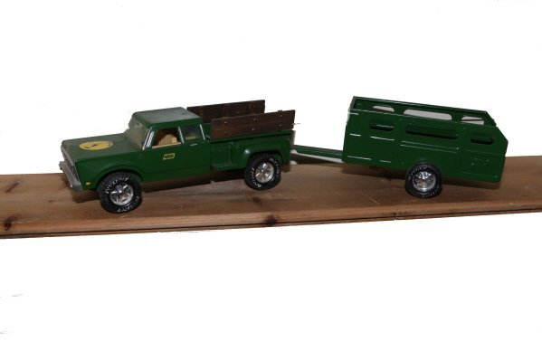 1: Nylint toy truck & trailer 1960's