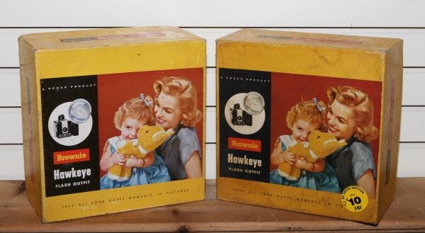 10: 2 - Kodak brownie cameras NOS
