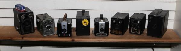 11: Lot of 8 Cameras - Target, Marksman, Hawkeye