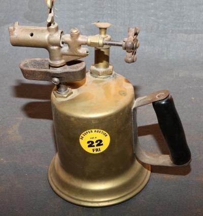 22: Brass blow torch