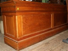 223: General Store wood counter