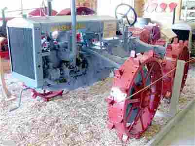 371C: 1930 Massey Harris 4 wheel drive tractor - ( RARE