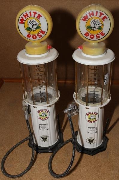 701: 2 - White Rose beverage dispensers