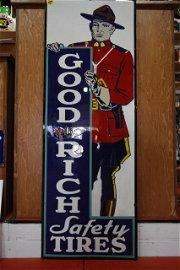 323: Goodrich Tire Mountie Sign