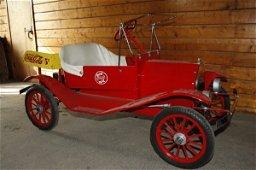 386: Model T gas powered car - Coke advertising