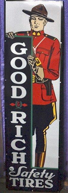 257: Goodrich Mountie sign