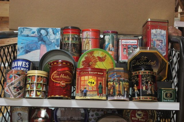 664: JOB LOT OF VARIOUS CANS