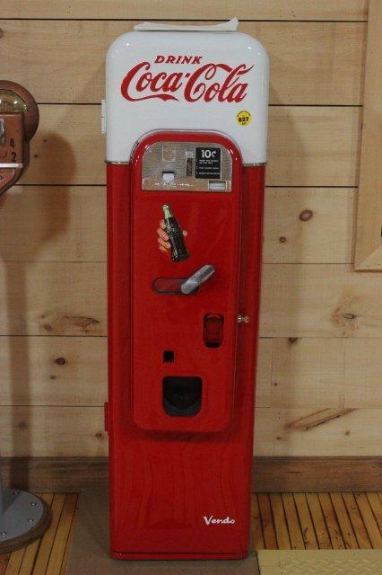 827: VENDO 44 COKE MACHINE RESTORED