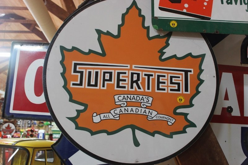 reproduction supertest sign 30 inch