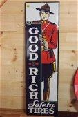 original goodrich tires mountie sign
