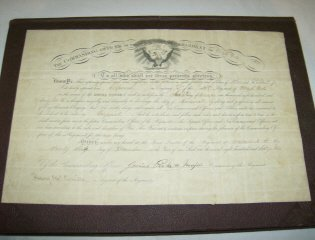 71: Civil War promotion Document