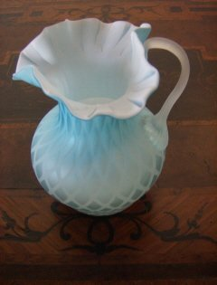 73: Satin Glass creamer