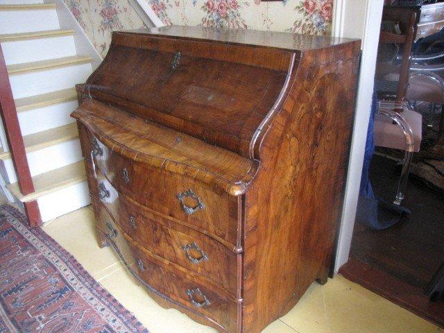 1: 18th century Italian desk.