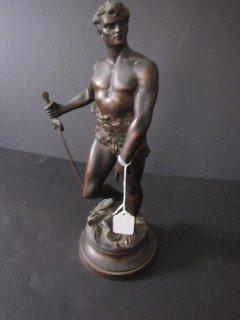 5: Antique Classical style figure