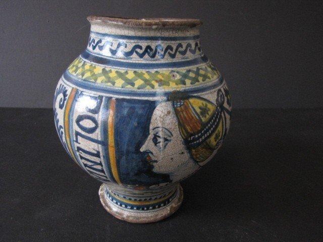 13: Antique Spanish /Italian vase