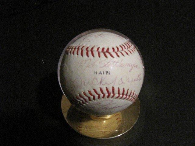 24: Autographed baseball