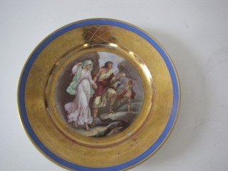 2: Hand Painted Russian plate