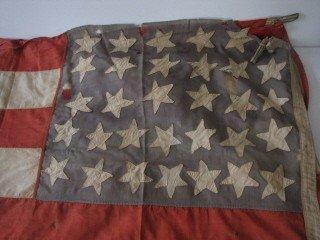 7: Large 32 star American battle flag