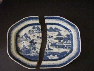 16: Lot of Canton China ca. 1850