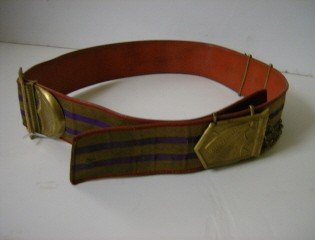 9: Early military belt