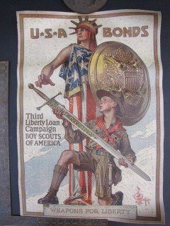 1: Statue of Liberty/ Boy Scouts of America poster