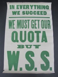6: We must get our quota - W.S.S.