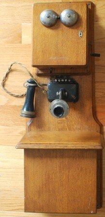 8: 1896 Stromberg and Carlson 2 box wall phone.