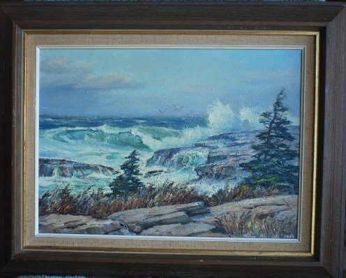 9: 1959 Alex Breede seascape