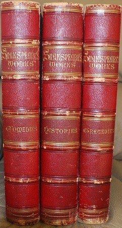 14: SHAKESPEARE 3 volumes Publ.: W. MacKenzie, London,