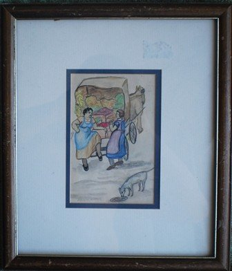 15: Edward Hopper Early 1900's watercolor, signed