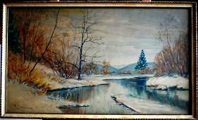 111 Raphael Senseman Landscape Water0color