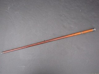 287: 287:Wood sword/cane, w/ etching on blade