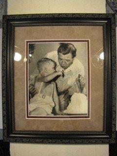 8: Babe Ruth signed photo