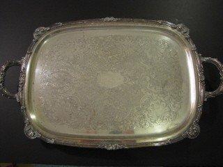 11: 11: Silver plate tea set