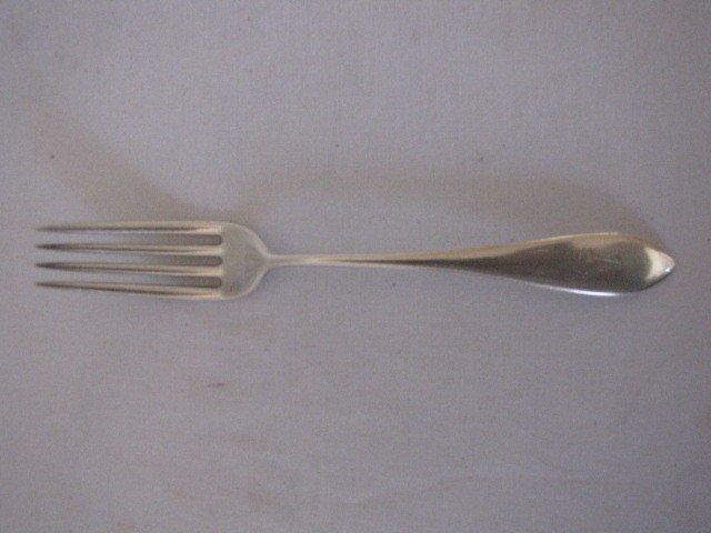 333: 5 Sterling silver forks - 2