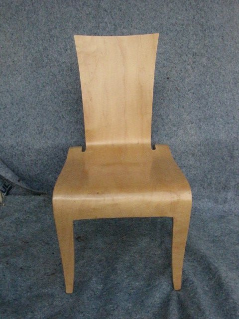3: Molded plywood chair