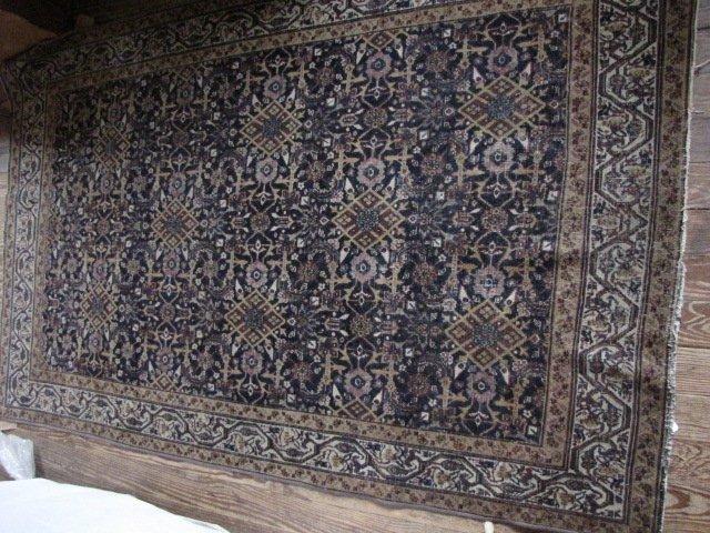 13: Carpet, Antique Agra, 4' x 6'