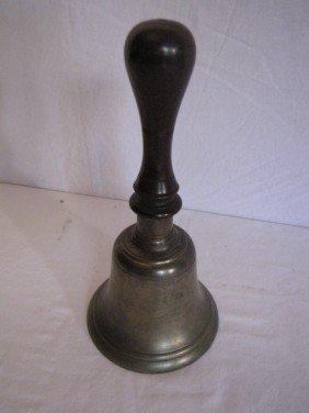 """Brass Bell, 9 1/2""""x4 1/2"""""""