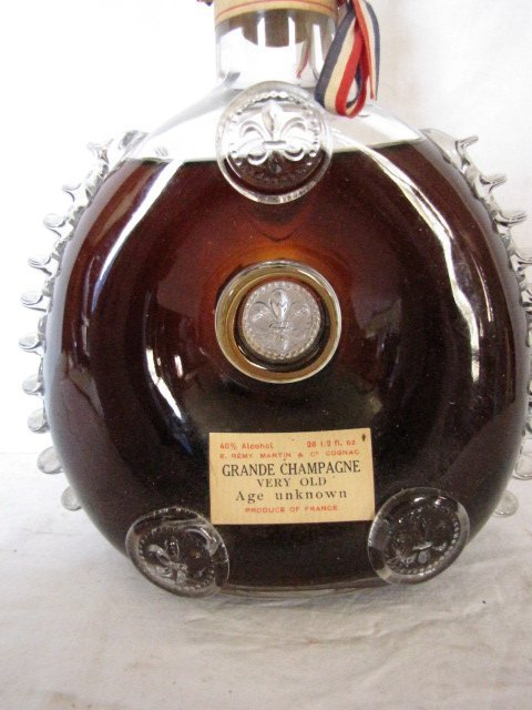 263: Early bottle Cognac Grande Champagne, sealed - 3