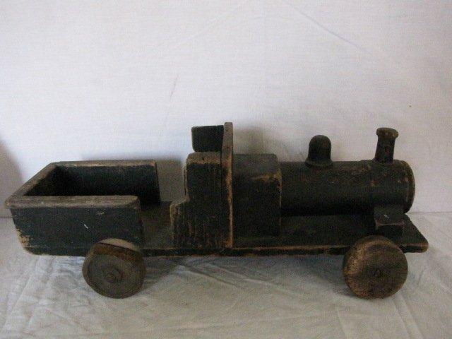 5: Wooden toy train