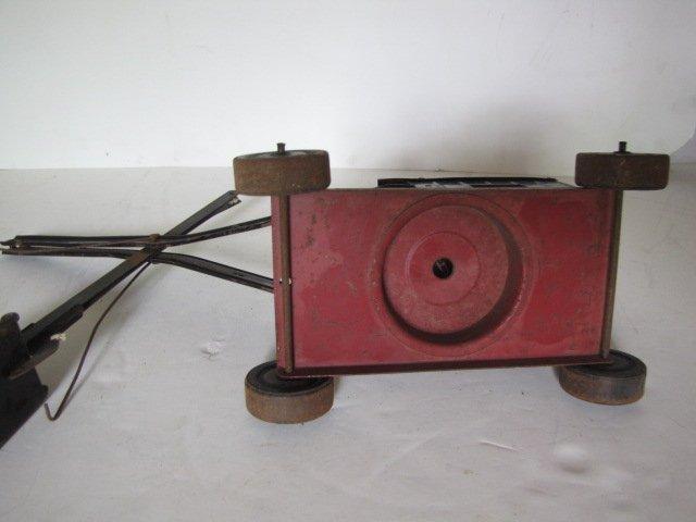76: Tin toy steam shovel - 3