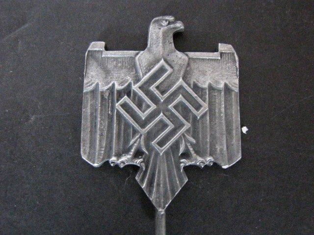 german metal eagle flag top