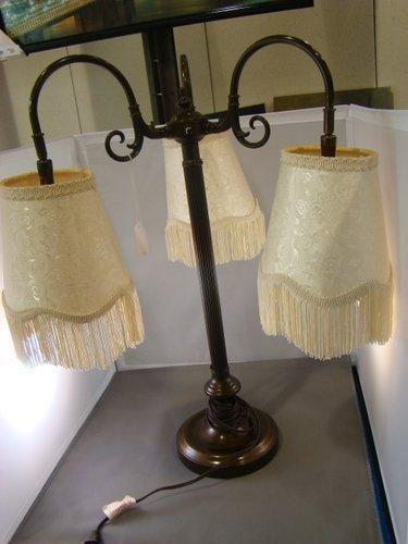 20: ARTS AND CRAFTS COPPER DESK LAMP