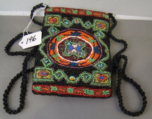 196: VINTAGE BEADED PURSE BY CHRISTIANA