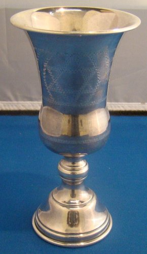 11: STERLING SILVER KIDDUSH CUP