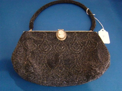 4: VINTAGE FRENCH BEADED BAG BY EUGENE LEIAS