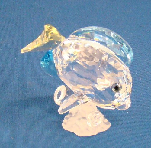 18: SWAROVSKI CRYSTAL - BLUE TANGO FISH