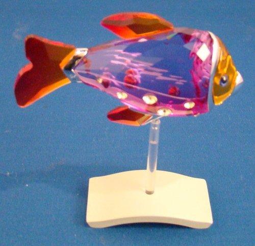 16: SWAROVSKI CRYSTAL - TROPICAL FISH IN FUCHSIA